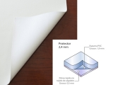 PROTECTOR DE MESA E-2.4 A-140 R-20M. Referencia: 4900000024 (Disponible)